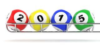 loto 2015 Imagen de archivo libre de regalías