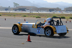 Loto 7 Autocross Immagine Stock