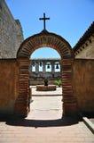 Lotos beskickning av San Juan Capistrano royaltyfri fotografi