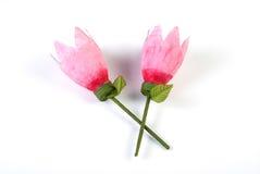 Lotos-Blume handgemacht Lizenzfreies Stockbild