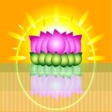 lotos graficzny Zdjęcie Royalty Free