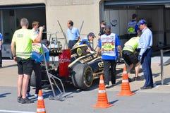 Lotos-laufendes Auto in 2012 F1 kanadisches großartiges Prix stockbilder