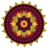 Lotos-Mandala Lizenzfreies Stockfoto