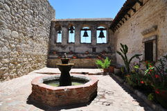 Mission of  San Juan Capistrano Stock Photos
