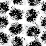 Lotos seamless background Royalty Free Stock Photos