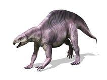 Lotosaurus dinosaurie Arkivfoto
