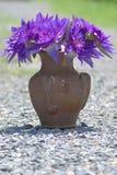 lotosowa purpurowa waza Zdjęcia Stock