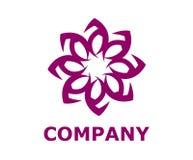 Lotosowego kwiatu logo 9 Fotografia Stock