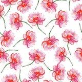 Lotosowego kwiatu wzór. Zdjęcie Stock