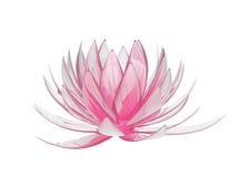 Lotosowy kwiat ilustracja wektor