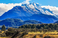 LOTR scene in Glenorchy, New Zealand Stock Images
