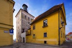 Lotrscak tower in Zagreb, Croatia Royalty Free Stock Image