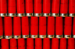 Lots of 12 Gauge Shells Royalty Free Stock Photo
