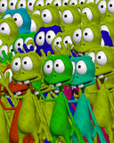 Lots Of Aliens 4 Royalty Free Stock Image