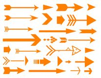 Lots of arrows Stock Photography
