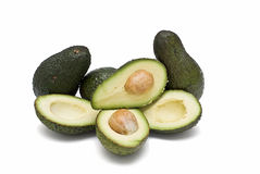 Lots of avocado. Royalty Free Stock Photo