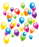 Lots of balloons Stock Photography