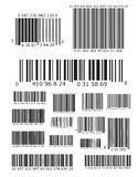 Lots of barcodes Stock Photos