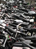 Lots of bikes Royalty Free Stock Photos