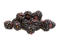 Lots Of Blackberries Royalty Free Stock Photos