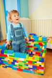 Lots of blocks is amazing Royalty Free Stock Image