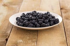 Lots of blueberries Stock Images