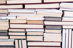 The lots of books arranged as background. Lots of books arranged as background royalty free stock image