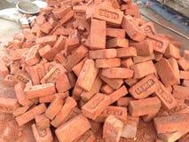 Lots of bricks Royalty Free Stock Photography