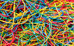 Lots of Cables Royalty Free Stock Photography