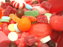 Lots of candy Royalty Free Stock Photos