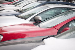 Lots of cars Royalty Free Stock Photography