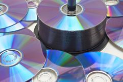 Lots of CDs Stock Images