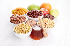 Lots of cereals Royalty Free Stock Photo