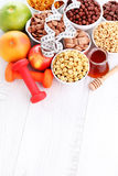 Lots of cereals Stock Photo