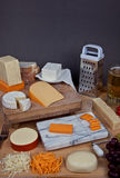 Lots of Cheese Stock Photography