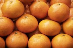 Lots of Chinese orange as for Chinese New Year stock photos