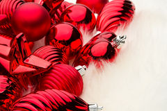 Lots of Christmas decorations Stock Photos