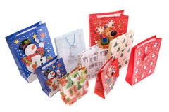 Lots of Christmas gifts Royalty Free Stock Photos