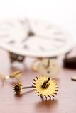 Lots of clock details Royalty Free Stock Photography