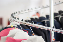 Lots of clothes Stock Photos