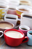 Lots of coffee! Stock Photography