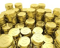 Lots of Coins Stock Image