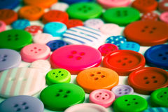Lots of colorful buttons Royalty Free Stock Photo
