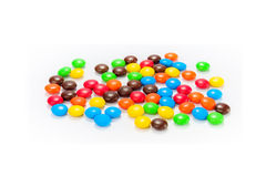 Lots of colorful candies Stock Photography
