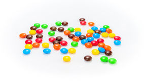 Lots of colorful candies Royalty Free Stock Image