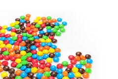 Lots of colorful candies Stock Photo
