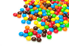 Lots of colorful candies Stock Image