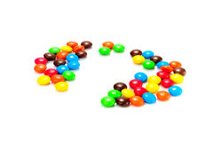 Lots of colorful candies Stock Photos