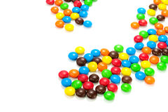 Lots of colorful candies Stock Images