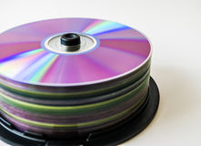 Lots of colorful discs Royalty Free Stock Photo